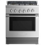 "Fisher & PaykelDual Fuel Range 30"", 4 Burners (LPG)"