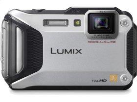 LUMIX DMC-TS5 Wi-Fi Enabled Lifestyle Tough Camera - Silver