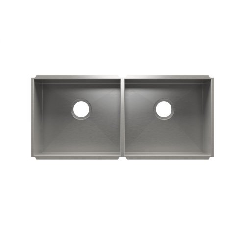 "UrbanEdge® 003682 - undermount stainless steel Kitchen sink , 18"" × 16"" × 8""  18"" × 16"" × 8"""