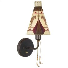 TEEPEE WALL LAMP
