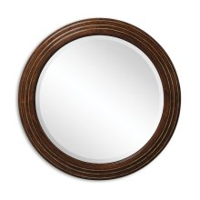 Circular Stepped Surround Mirror (Small Plain Glass)
