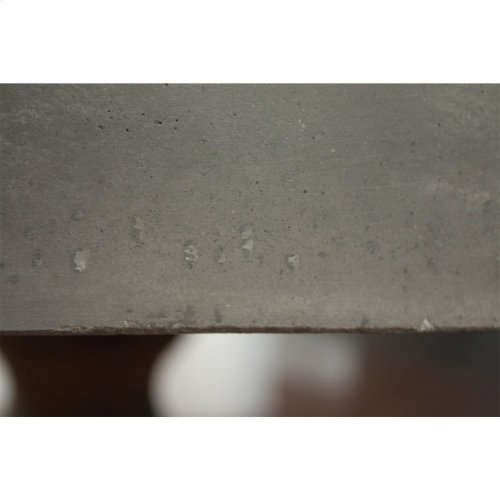 Sherborne - Concrete Top Round Dining Table Top - Natural Concrete Finish