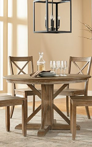 Trestle Table Top, W 18 In. Leaf