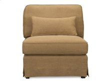 Sand Armless Chair