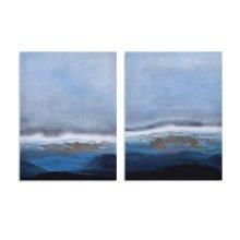 Stormy Sea Diptych (S/2)