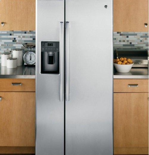 GE® 23.2 Cu. Ft. Side-By-Side Refrigerator [OPEN BOX]
