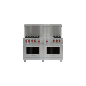 "60"" x 20"" Dual Fuel Range Riser With Shelf"