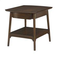 Mila Rectangular End Table W/ Drawer