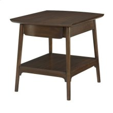 Mila Rectangular End Table W/ Drawer