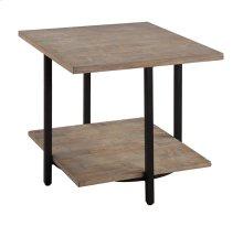 End Table-wood & Metal Rta
