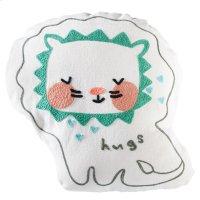 """Hugs"" Lion Pillow. Product Image"
