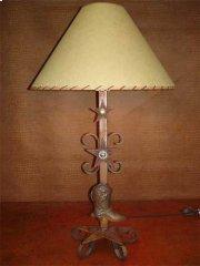 Boot Metal Lamp Product Image