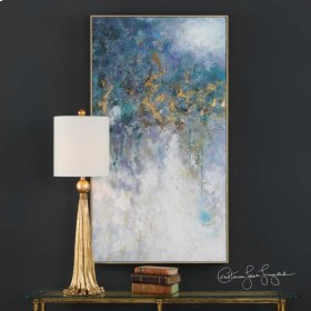 Floating Hand Painted Canvas