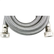 Braided Stainless Steel Washing Machine Hose (6ft)