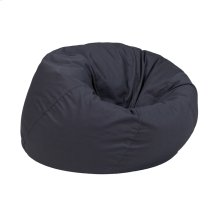 Small Solid Gray Kids Bean Bag Chair