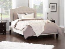 Naples Upholstered Bed Queen in Pebble Beach