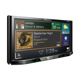 """DVD Receiver with 7"""" Motorized Display, Bluetooth®, Siri® Eyes Free, SiriusXM-Ready """", HD Radio """", Android """" Music Support, Pandora®, and Dual Camera Inputs"""