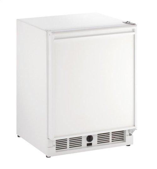 """21"""" ADA Solid Door Refrigerator White Solid Field Reversible"""