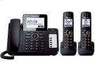 Expandable Corded/Cordless Phone with 1 Corded Handset and 2 Cordless Handsets Product Image