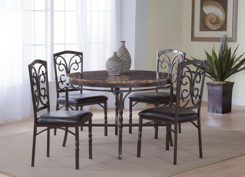4550  Tuscan Faux Marble Table
