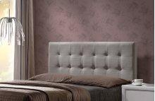 Duggan Headboard Queen - Headboard Frame Included - Light Linen Gray
