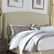 Queen Wing Shelter Headboard Product Image