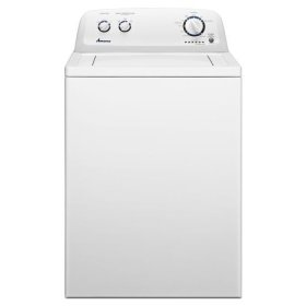 3.4 cu. ft. Top Load Washer with Load Size Options - white
