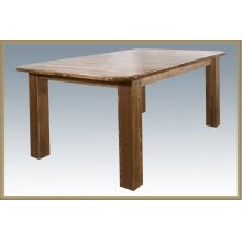 Homestead 4 Post Dining Table - Stained and Lacquered