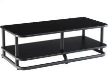 Black AV Base & Shelf Modular furniture with a contemporary European flair
