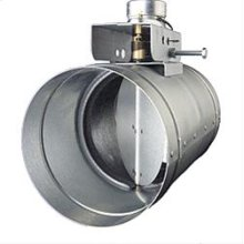 """6"""" Automatic Make-Up Air Damper - Direct Wired with Relay Module DISCONTINUED"""