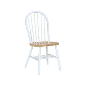 JOHN THOMAS FURNITUREWindsor Chair in White & Natural