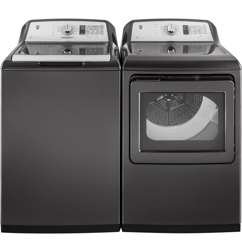 GE® 4 9 cu  ft  Capacity Washer with Stainless Steel Basket