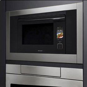 30'' SuperSteam+ Oven; 1.1 cu. Ft. capacity; Air Direct Plus; Full Colour Touch Navigation