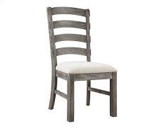 Paladin - Side Chair Slat Back Upholstered Seat Rta