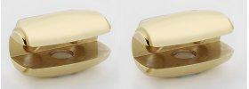 Royale Shelf Brackets A6650 - Polished Brass