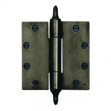 """Butt Hinge - 5"""" x 5"""" Silicon Bronze Brushed"""