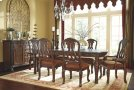 North Shore - Dark Brown 10 Piece Dining Room Set Product Image