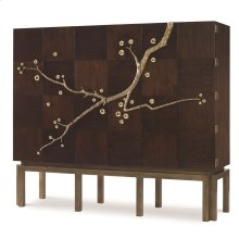 Cherry Blossom Cabinet - Walnut