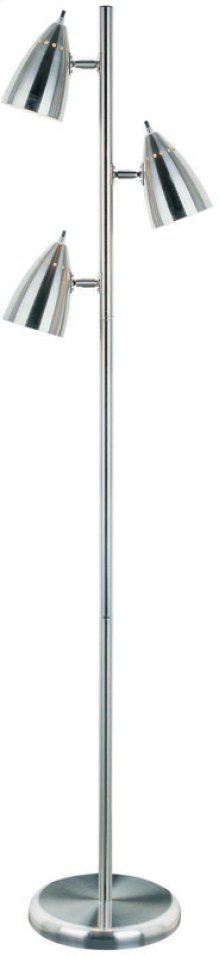 Floor Tree Lamp, W/3 Lites, Ps E27 Type A 60wx3