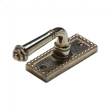 Corbel Rectangular Tilt & Turn Window Escutcheon - EW30700 Silicon Bronze Brushed