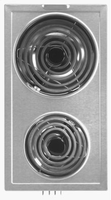 Jenn-Air® Designer Line Coil Element Cartridge - Stainless Steel