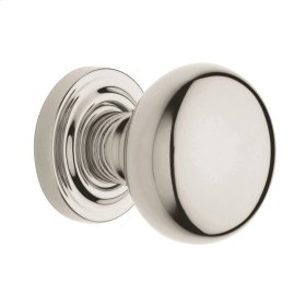Polished Nickel with Lifetime Finish 5000 Estate Knob
