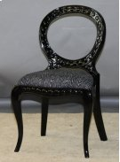 Black Pendant Side Chair Product Image