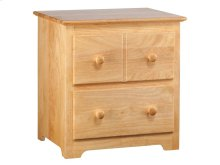Windsor 2 Drawer Night Stand in Natural Maple