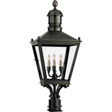 Visual Comfort CHO7032BZ E. F. Chapman Sussex 3 Light 30 inch Bronze Outdoor Post Lantern