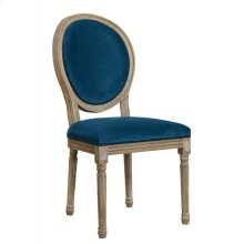 Peacock Velvet Dining Chair