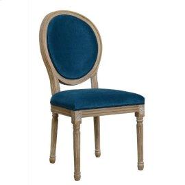 Peacock Velvet Dining Chair