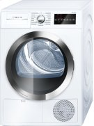 800 Series Cond. Dryer - 208/240V, Cap. 4.0 cu.ft., 15 Cyc.,63 dBA, SS Drum, Chr. Rev./Door Int. Light, ENERGY STAR Product Image
