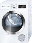 800 Series Cond. Dryer - 208/240V, Cap. 4.0 cu.ft., 15 Cyc.,63 dBA, SS Drum, Chr. Rev./Door Int. Light, ENERGY STAR Product Image