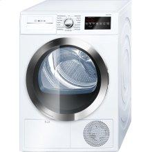 800 Series Cond. Dryer - 208/240V, Cap. 4.0 cu.ft., 15 Cyc.,63 dBA, SS Drum, Chr. Rev./Door Int. Light, ENERGY STAR